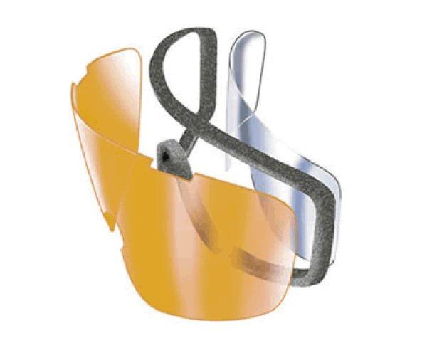 lente de doble panel antiempañante