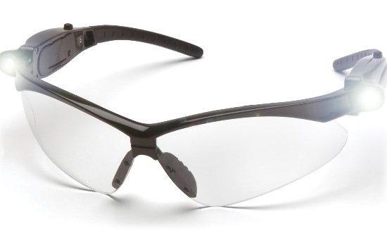 gafas de seguridad industrial con bombillo led