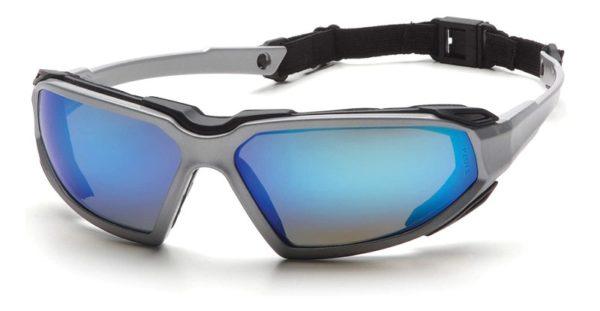 gafas de seguridad industrial pyramex highlander espejo azul