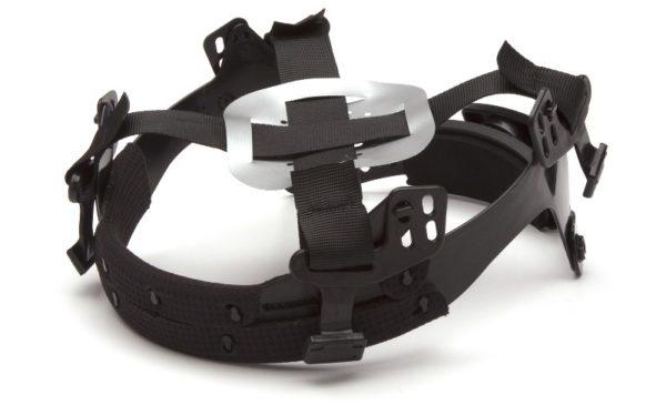 casco de seguridad safari pyramex suspension de 4 puntos rachet