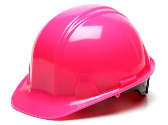 casco de seguridad pyramex PARA MUJER ridgeline capstyle con suspension de 4 puntos